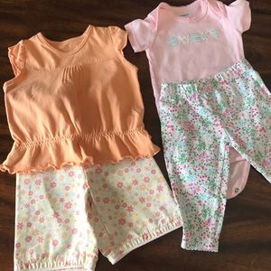 Two Adorable Baby Sets Size 3 Month